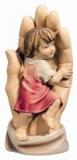 3209 schützende Hand Mädchen