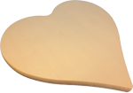 Herz aus Ahornholz